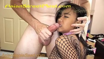 petite brunette teen likes to drink juice