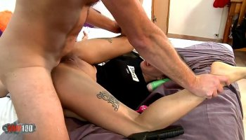 Wonder Woman on guard of good and anal plowed