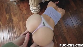 Big booty sexy MILF Kendra Lust tries on panties and gets fucked