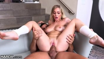 Sexy teacher syren de mer suck and fuck a big dick