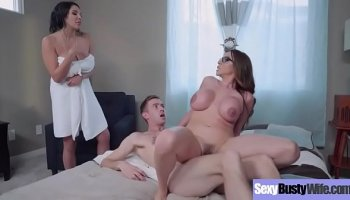 Hard anal gangbang with lewd bitches