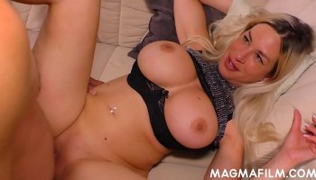 Horny shemale Haycka Montoanelly takes the cock in her ass